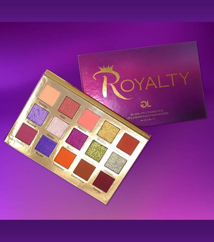 Glamlite Royalty Palette Monolith Beauty Lifestyle