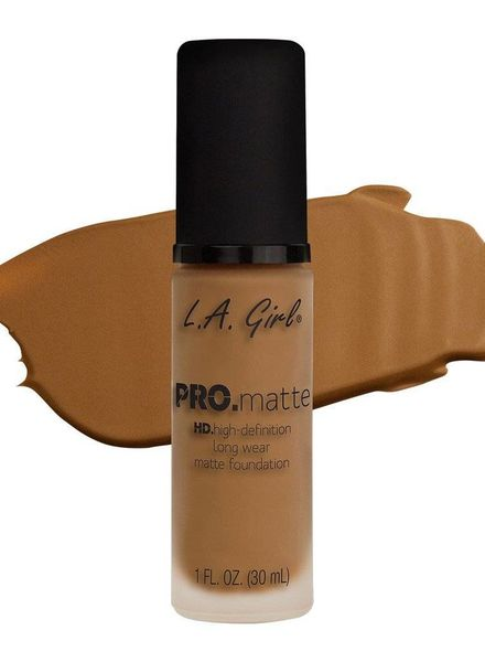 L.A. Girl PRO Matte Foundation - Caramel