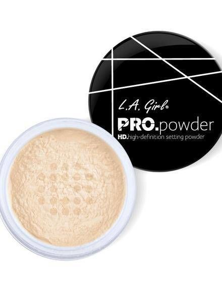L.A. Girl Pro Setting Powder Banana