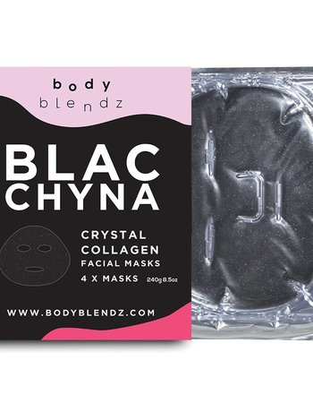 Bodyblendz Crystal Collagen Facial Masks (x4 Masks)