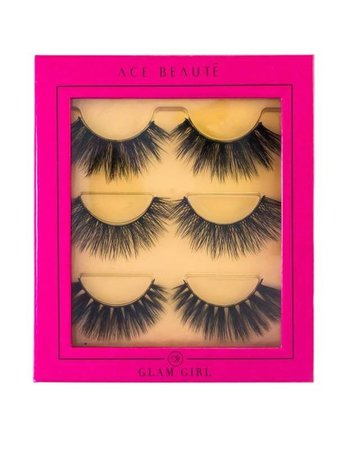 Ace Beaute Ace Beaute Glam Girl Eyelash Trio