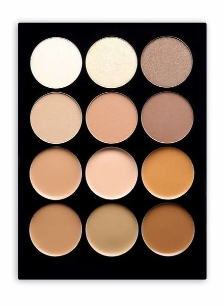 Beauty Creations  Beauty Creations 12 Contour Cream & Powder Palette