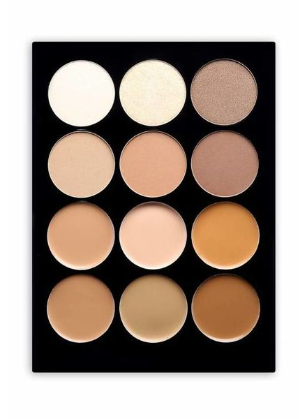 Beauty Creations  Beauty Creations 12 Contour Cream & Powder Palette