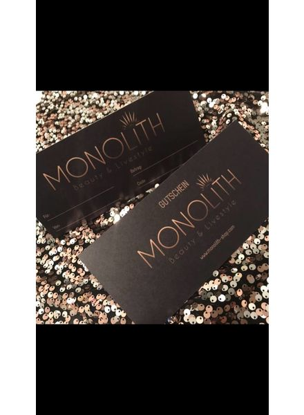 Monolith Shop voucher - 100.00 CHF
