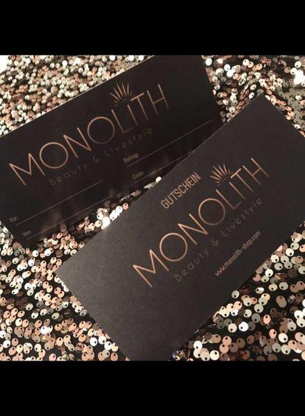Monolith Shop voucher - 50.00 CHF