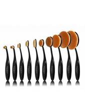 Boozy Cosmetics Boozy Cosmetics 10er Black Oval Brush Set