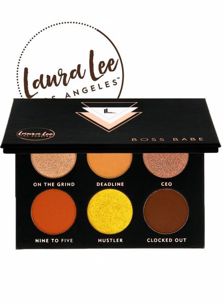 Laura Lee L. A. Laura Lee Boss Babe Pressed Pigment Palette