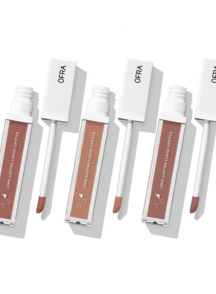 OFRA Cosmetics Ofra Long Lasting Liquid Lip Set - the Nudes
