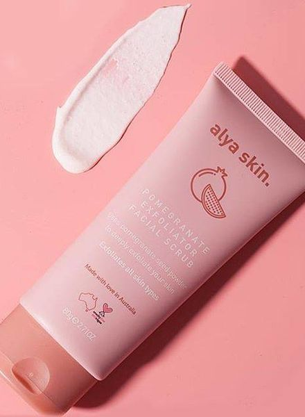 Alya Skin  Alya Skin Pomegranate Facial Exfoliator