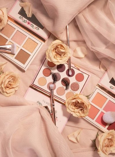 Beauty Creations  Floral Bloom 'Champagner Set' Brushes