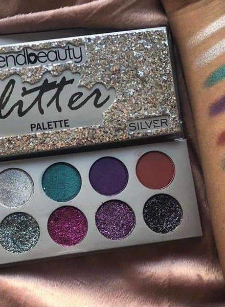 Trendbeauty Trendbeauty Glitter Silver Palette