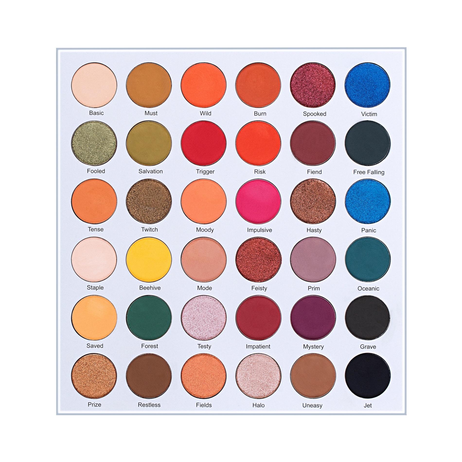 Lurella Cosmetics Eyeshadow Palette