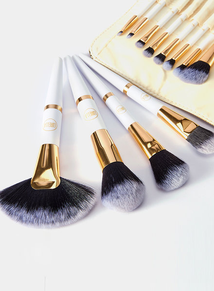 Lurella  Lurella Cosmetics Brushset - Gold Rush