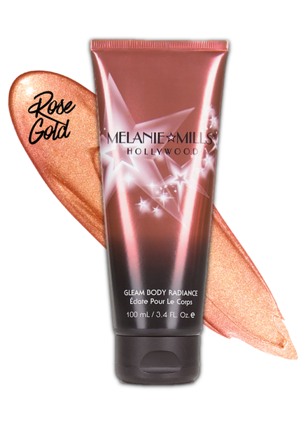 Melanie Mills Melanie Mills Hollywood - Gleam Body Radiance 100ml - Rosegold