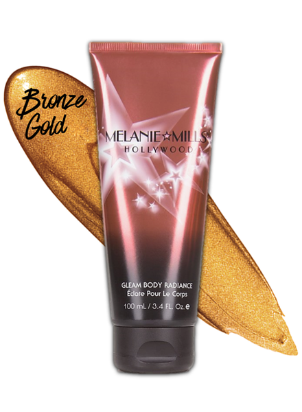 Melanie Mills Melanie Mills Hollywood - Gleam Body Radiance 100ml - Bronzegold