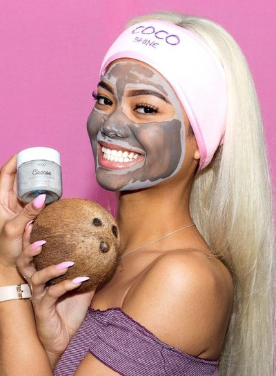 Cocoshine Organic Clay Mask Combo - Cleanse