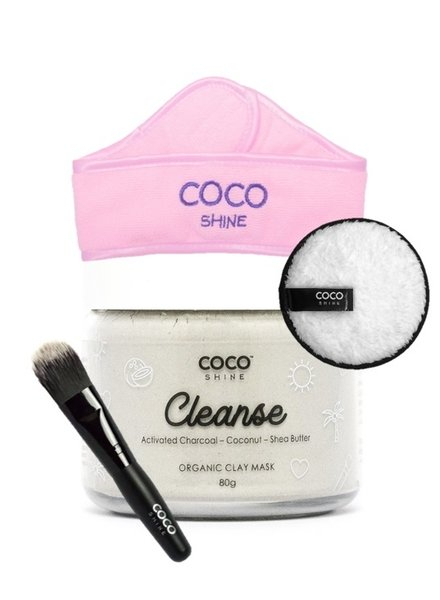 Cocoshine Cocoshine - Organic Clay Mask Combo - Cleanse