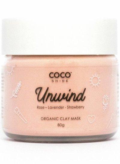 Cocoshine Organic Clay Mask Combo - Unwind