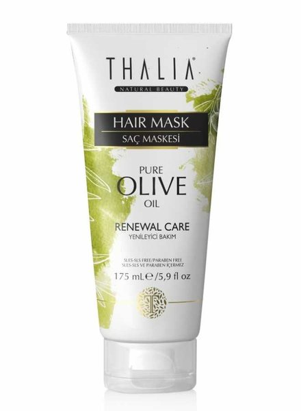 Thalia Beauty Thalia - Olivenöl & Macadamia-Butter Haarmaske 175 ml