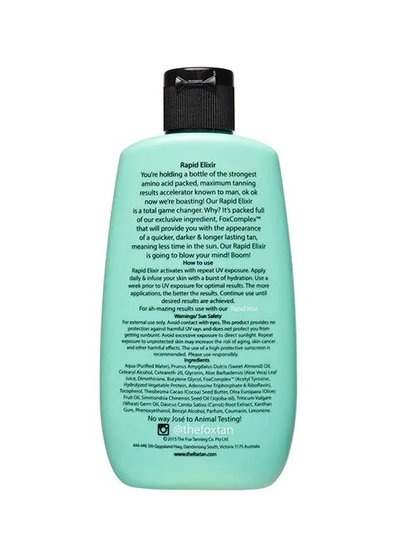The Fox Tan The Fox Tan - Rapid Elixir 120ml