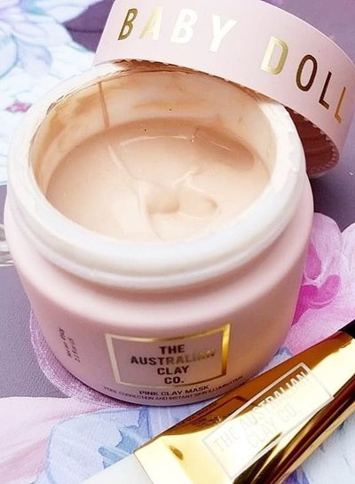 AustralianClay Babydoll Pink Clay Mask
