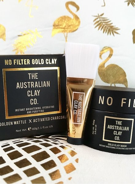 AustralianClay The Australian Clay Co - No Filter Gold Clay Mask