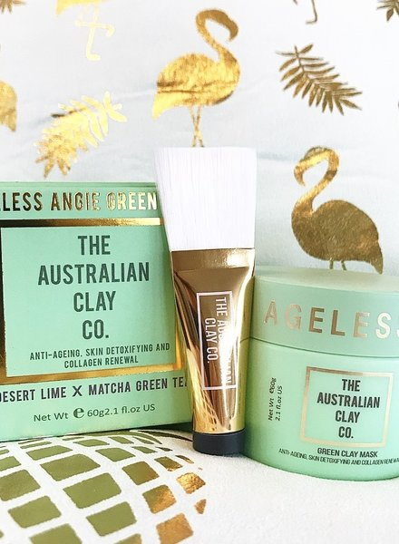 AustralianClay The Australian Clay Co - Ageless Angie Green Clay Mask