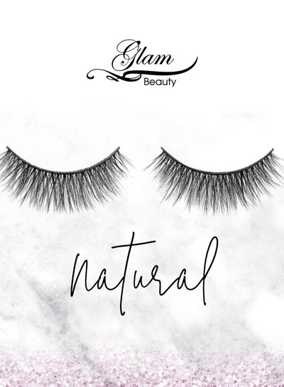 Glam Beauty Glam Lashes Premium Silk - Natural