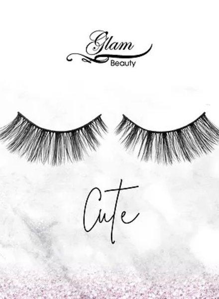 Glam Beauty Glam Lashes Premium Silk - Cute