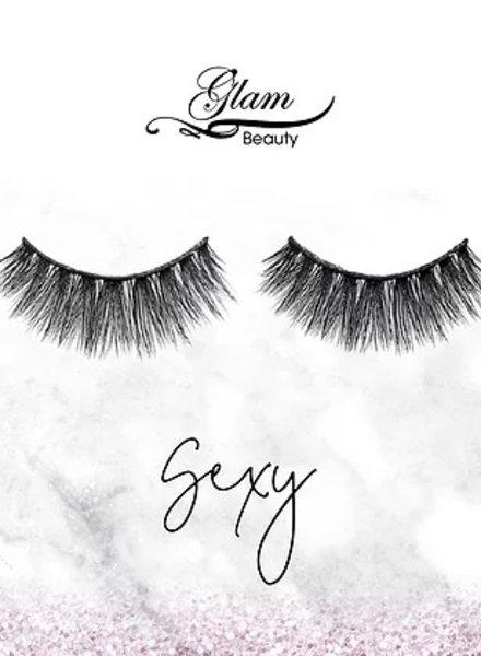 Glam Beauty Glam Lashes Premium Silk - Sexy