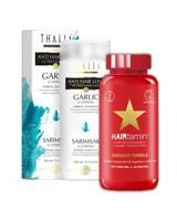 Thalia Beauty Thalia Knoblauch Shampoo & Hairtamin Kapseln Combo