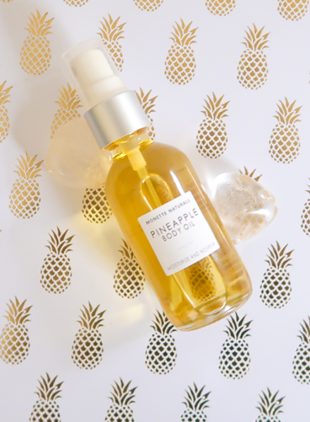 Monette Naturals Monette Naturals - Pineapple Body Oil