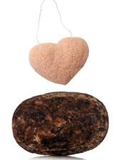 Breed Love Beauty Breed Love Beauty Co - African Black Soap & Konjac Sponge