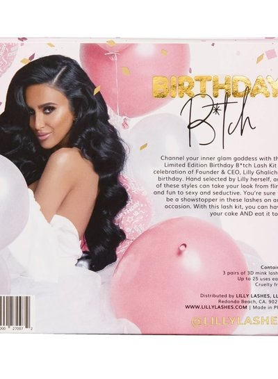 Lilly Lashes Lilly Lashes - Birthday B*tch Kit
