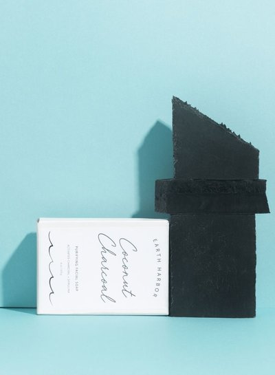 Earth Harbor Coconut Charcoal Purifying Facial Soap