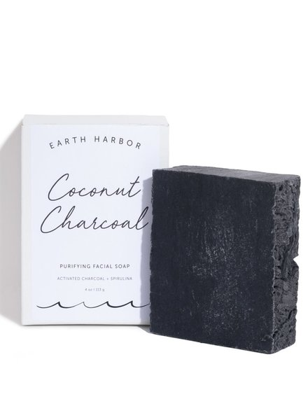 Earth Harbor Earth Harbor - Coconut Charcoal Purifying Facial Soap