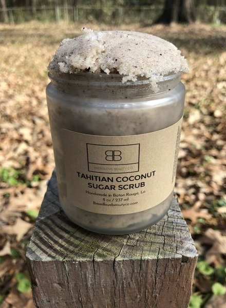 Breed Love Beauty Breed Love Beauty Co - Tahitian Coconut Scrub