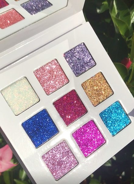 Eloise Beauty Eloise Beauty - The Queen Pressed Glitter Palette