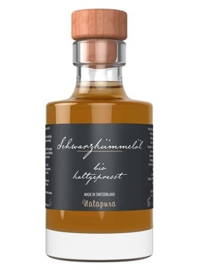 Natapura Natapura - Bio zertifiziertes Schwarzkümmelöl (kaltgepresst)