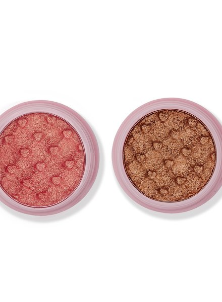 Ace Beaute Ace Beaute Glimmer Shadow Duo Set - Cotton Candy & Iced Latte