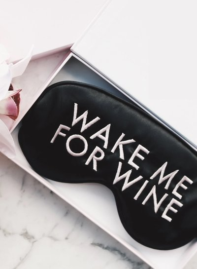 Tanzee Tanzee Eye Mask - Wake Me For Wine