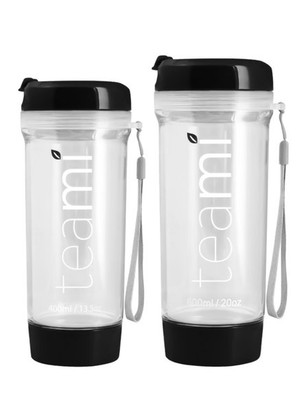 teami Tea Tumbler 400ml - Black