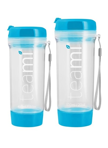 teami Tea Tumbler 400ml - Blue