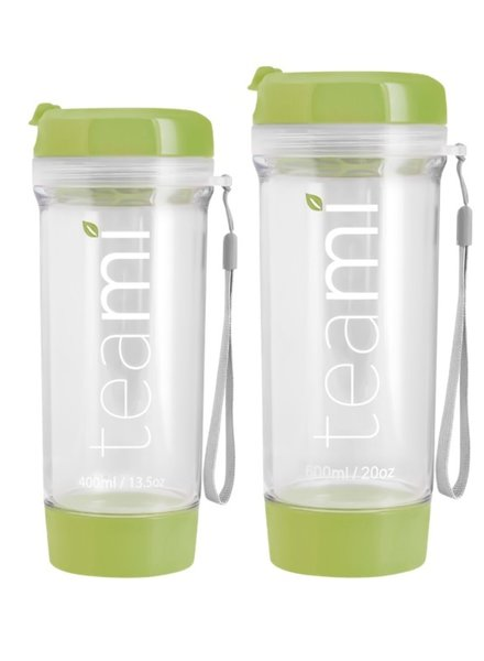 teami Tea Tumbler 400ml - Olive