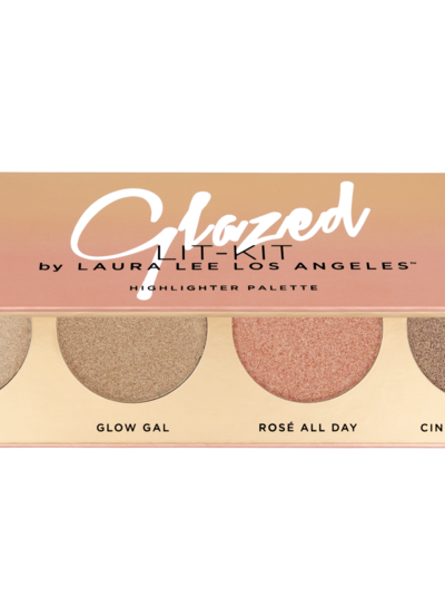 Laura Lee L. A. Laura Lee Los Angeles - Glazed Lit Highlighter Palette