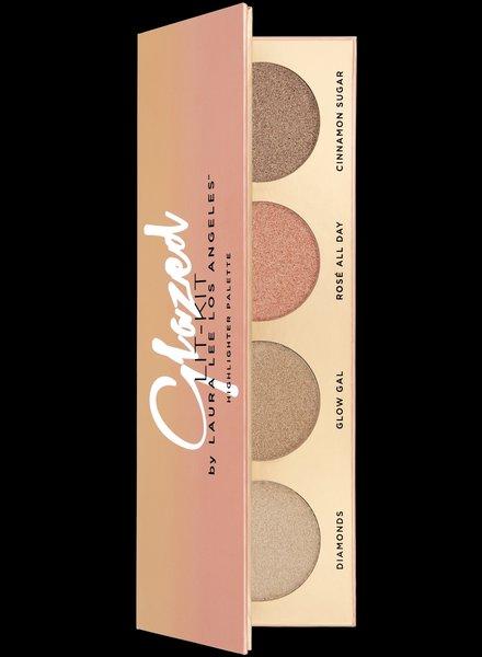 Laura Lee L. A. Laura Lee Los Angeles - Glazed Lit Highlighter Palette