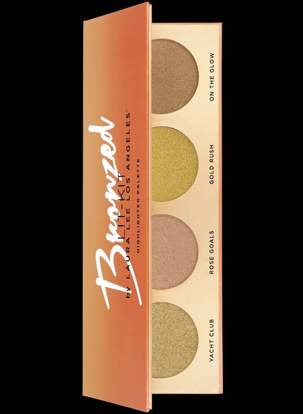 Laura Lee L. A. Laura Lee Los Angeles - Bronzed Lit Highlighter Palette