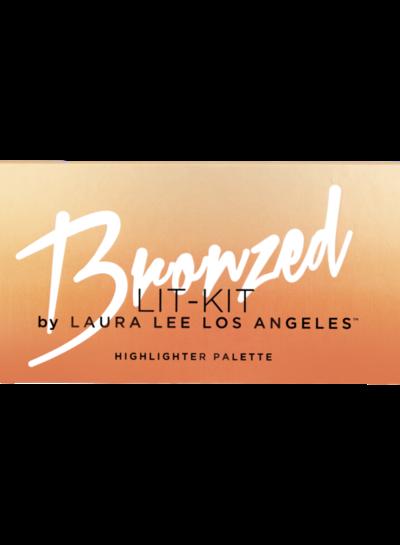 Laura Lee L. A. Laura Lee Los Angeles - Bronzed Lit Highlighter Palette
