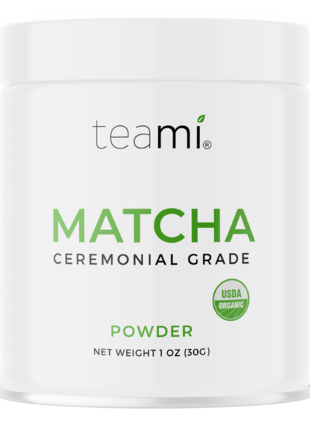 teami Matcha Powder Tins