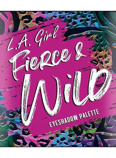 L.A. Girl Fierce & Wild Eyeshadow Palette - Untamed